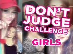 Don't judge challenge sosyal medya